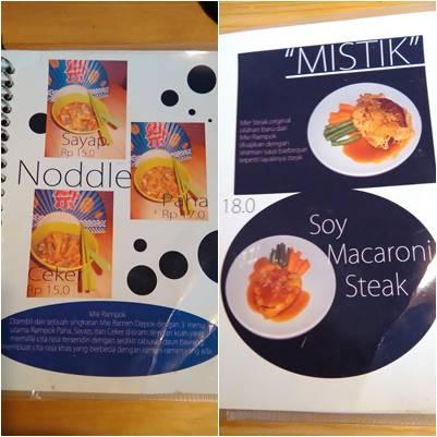 menu rampok